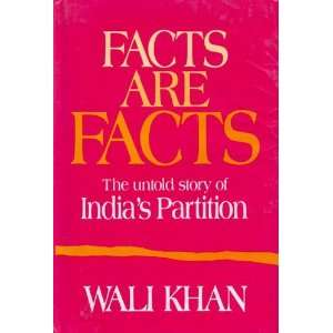 of Indias partition (9780706937558): Khan Abdul Wali Khan: Books