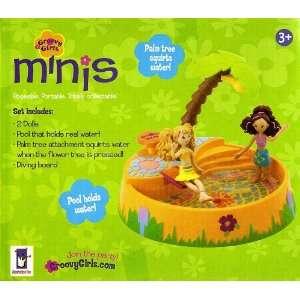 Groovy Girls Minis Pool Set Splash Bash Toys & Games