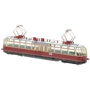 Glass Train Powered Observation Rail Car (L) (HO Scale) Toys & Games