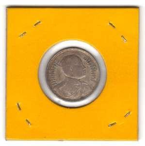 Baht Thailand/ Siam Silver Coins/ King Rama 6th / Elephant 1919
