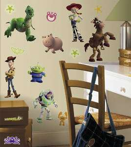 Toy Story 3 Wall Sticker Decal Mural Kids Buzz Woody