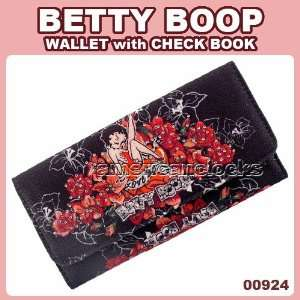 Classic Beauty Betty Boop Rose Long Wallet Toys & Games