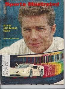 SPORTS ILLUSTRATED 1967 JIM HALL RACING CHAPARRAL