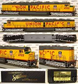HO train BACHMANN *Spectrum* Diesel DD40AX Engine UP ~Twin Motor