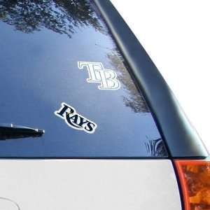 Tampa Bay Rays 2 Pack 4 x 4 Die Cut Decals Sports
