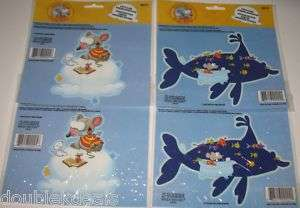 NEW 4 TOOPY AND BINOO BATH/MIRROR/WINDOW CLING DECALS
