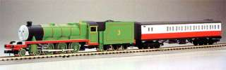 Thomas the Tank Engine Henry 2 cars   Tomix 93805