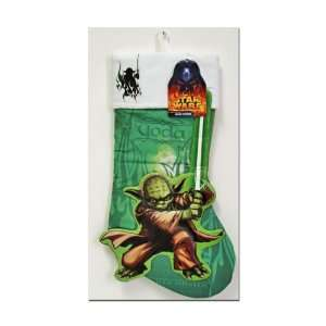 19 STAR WARS VADER & YODA PRINTED APPLIQUE STOCKINGS SET