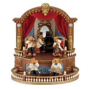 Musical Chairs Bear Orchestra from Mr. Christmas Gold Label Music Box