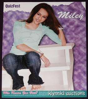 Miley Cyrus Centerfold Poster 549A Dylan & Cole Sprouse