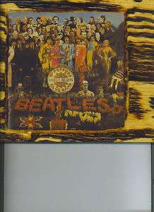 Beatles Wooden Plaque Sgt.PepperAlbum Cover REPRO