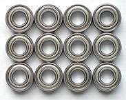 12pcs Ball Bearing Fits Tamiya Stadium Thunder/Blitzer