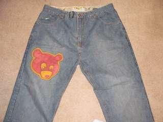 jeans denim Kanye west bear 38 40 alife