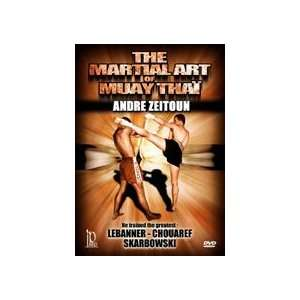Martial Art of Muay Thai DVD by Andre Zeitoun Sports