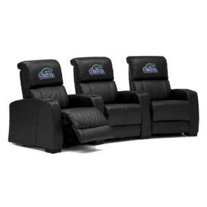 Florida Gators Leather Theater Seating/Chair 2pc