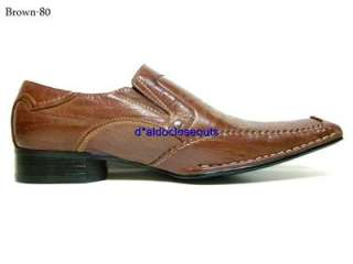 ALDO Brown Italian Style Dress/Casual Shoes Loafers