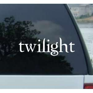 Twilight Logo   Vinyl Car Decal Sticker   new moon eclipse