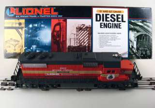 LIONEL RAILROADER CLUB 1992 SPECIAL EDITION GP 38 DIESEL ENGINE ~ C 8