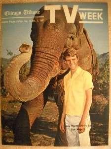 Jay North MAYA Chicago Tribune TV Guide Aug 26 1967