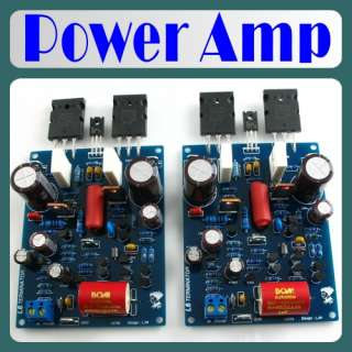 L6 Audio Power Amplifier Board x 2pcs 120W+120W Best For Amp Project