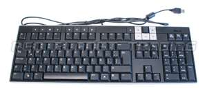 Genuine Dell Black Multimedia Spanish Keyboard U474D
