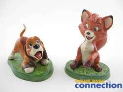 Disney WDCC Fox & the Hound COPPER & TOD The Best of Friends 2 Figure