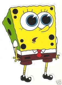 Spongebob big round eyes shocked Vinyl Decal Sticker