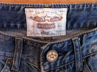 BIG STAR Vintage Collection JOEY Destroyed Cropped Jeans Women Size 27