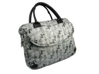 Black Hello Kitty Handbag 10.2 Netbook Laptop Case Bag