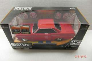 24 Jada BigTime Muscle (Hobby Exclusive) 1964 Ford Falcon – Red