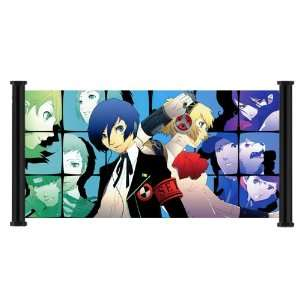 Shin Megami Tensei Persona 3 Game Fabric Wall Scroll Poster (62x31
