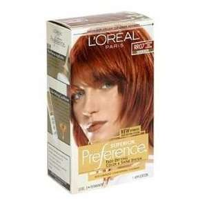 Loreal Superior Preference #RR07 (Warmer) Intense Red