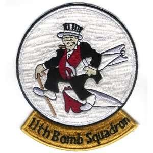 11TH Bomb Squadron 5 Patch