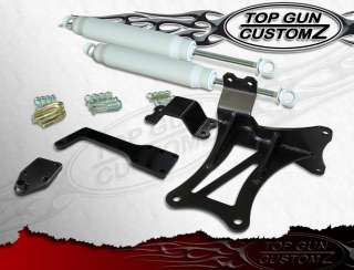 00 05 Ford Excursion 4x4 Dual Steering Stabilizer Kit