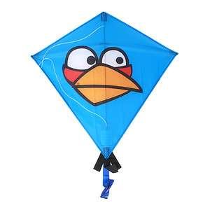 Kite Licensed Angry Birds Blue Bird 25 Diamond Nylon Kite XL 81342