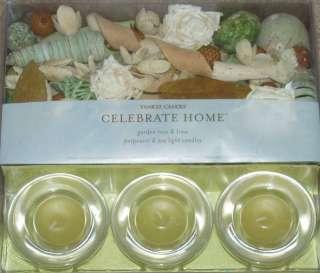 NEW GIFT SET Yankee Candle Potpourri  Tea light Candles