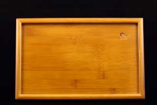 Retangle Shape Bamboo Serving Tray in Tea House 28*19cm