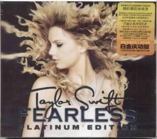 Taylor Swift Fearless CD+DVD Platinum Edition New Rare 843930002900