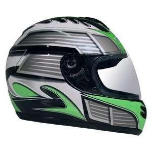 DOT Green Full Face Street Bike JIX Motorcycle Helmet Automotive