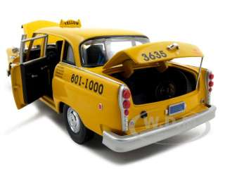 1981 LOS ANGELES TAXI CAB CHECKER 1/18 MODEL CAR