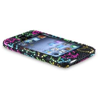 ipod touch 4th gen black rainbow peace sign bling quantity 1 this