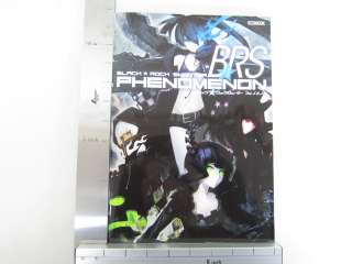 BLACK ROCK SHOOTER BRS Phenomenon Huke Material Art Book Japan Anime