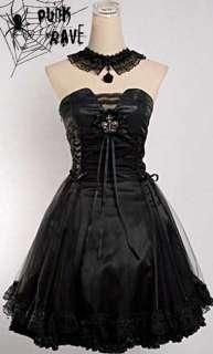 fashion PUNK Rock kera lolita goth Princess nana dress