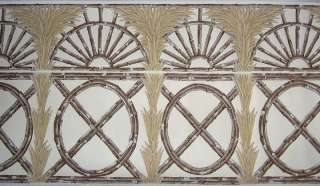 14h CLARENCE HOUSE Java Bamboo Trellis Border/Frieze