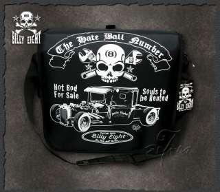 Rod ★ Rockabilly Messenger Tattoo Rat Bag Shoulder Tasche NWT