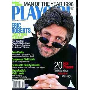 1998 : Eric Roberts; sexy twins in the centerfold!: Playgirl Magazine
