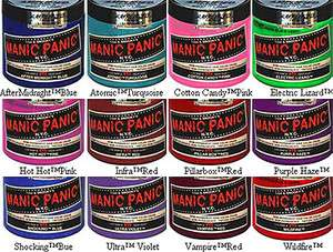Manic Panic AMPLIFIED HAIR DYE More Colors T H R E D S