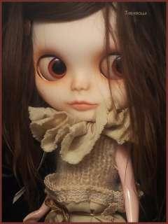 Taradolls Ernesta Custom #5 blythe doll OOAK Alpaca rerooted doll art