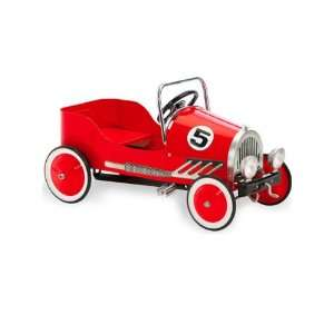 Morgan Cycle Red Retro Pedal Car Electronics