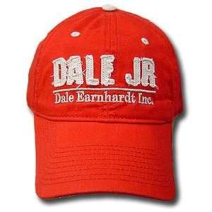 DALE EARNHARDT INC JR RED #88 CAP HAT NASCAR ADJ RACING